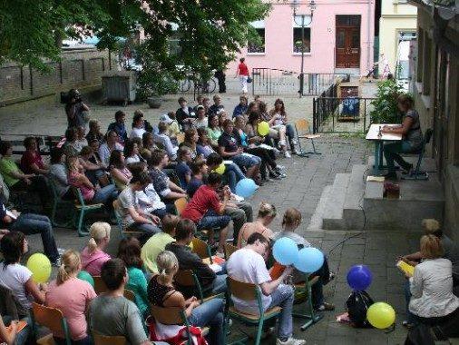 """19.06.2008 """"Landtag vor Ort"""" in Wolgast"""