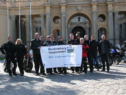 10.05.2009 Zweite gemeinsame Ausfahrt von Motorradfreunden