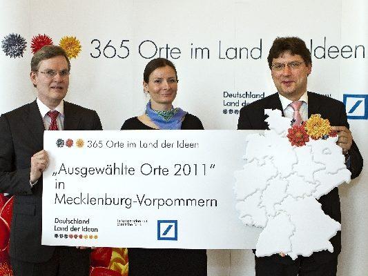 """13.04.2011 Preistraegerempfang""""365 Orte im Land der Ideen"""""""