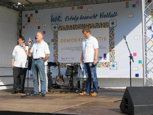 03.09.2011 Start der DEMOKRATIEAKTIE in Greifswald