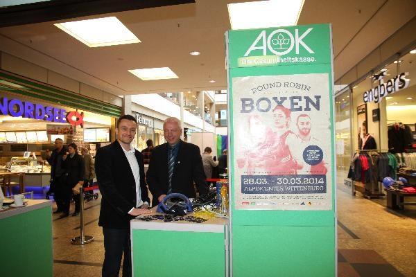 15.03.2014 Aktionstag im Schlosspark-Center Schwerin
