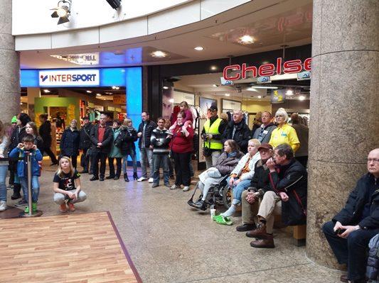 27.02.2016 Aktionstag im Schlosspark Center Schwerin