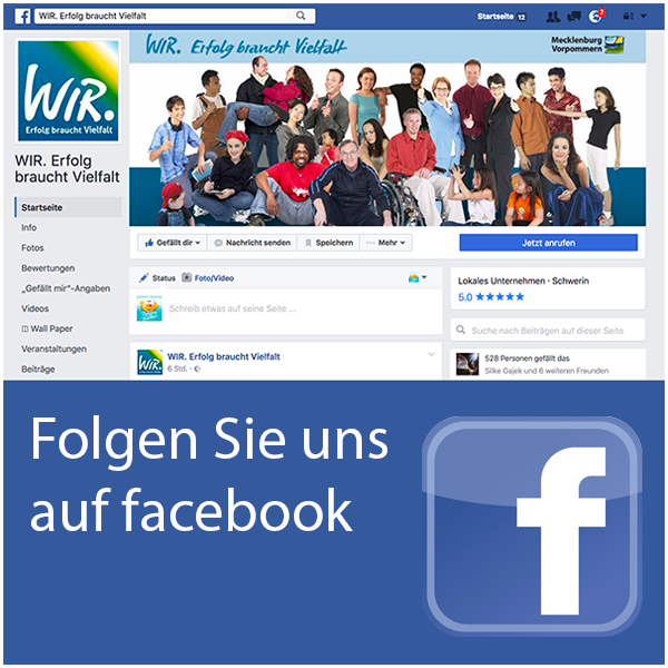 Folgen Sie uns auf unerer facebook-Fanpage